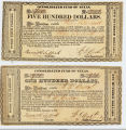 1837 Consolidated Funds Notes