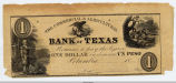 One Dollar Bank Note