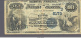 1882 series $10 National Bank Note