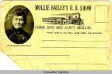 Mollie Bailey's Railroad Show