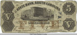 Money, 1855, South Carolina