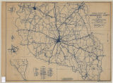 General Highway Map of Nacogdoches County