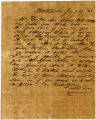 Charles S. Taylor letter, January 27, 1843
