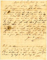 Charles S. Taylor Letter, March 27, 1844