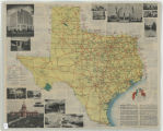 Texas Highway Map