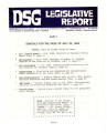 DSG legislative report, 1983-07-25 Reports and Supplements