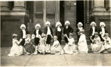 Demonstration School Students in Costumes