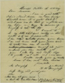 Letters from Kelsey Douglass, October 15, 1837