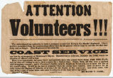 Call for Confederate Volunteers, January 8, 1862