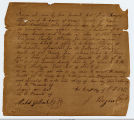 1839 Claim  for Payment for Horse Furnished to Republic of Texas
