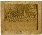Stone Fort Rifles Group Photograph circa 1890 Copy 3
