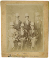 Six Men in White Top Hats