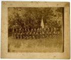 Stone Fort Rifles Group Photograph circa 1890 Copy 1