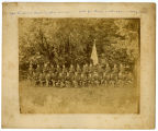 Stone Fort Rifles Group Photograph circa 1890 Copy 2