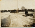 Photograph of Road and Park Construction, 1913