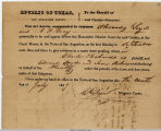 1839 Subpoena for Witnesses