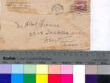 Sympathy letter from C. Bruce Ferguson in Leavenworth, Kansas to Albert Thomas in Houston, Texas;...