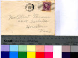 General letter from Annie Donnell Watkins to her daughter, Lera Thomas; Postmarked June 30, 1934...