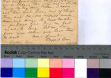 General postcard from Clifford Baker in Dublin, Texas to Albert Thomas in Houston, Texas;...
