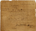 1835 Order to Survey Land