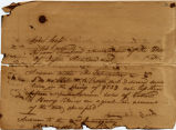 Fragment of Interrogatory, 1840