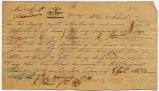 1841 Sworn Statement of Account