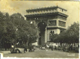 Paris - L'Arc de Triomphe Postcard
