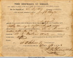 1843 Summons to Give Evidence