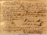 1839 Republic of Texas Deed