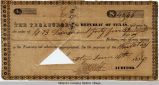 1837 Texas Treasury Note