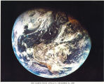 Earth Picture taken from Apollo 8