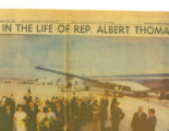 Albert Thomas Newspaper Article