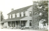Black and White Photograph of the Millard-Lee House