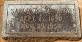 Johnson, Sallie W.