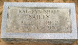 Bailey, Kathryn Sharp