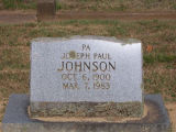 Johnson, Joseph Paul