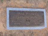 "Thompson, A.J. ""Whitey"""