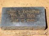 Andrews, Mary E.