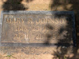 Johnson, Mary R.