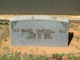 Campbell, Geo. Maury, M.D.