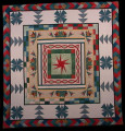 Triple Spinning Star Quilt
