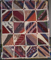 Blocks with Diagonal Strips Quilt