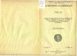 Examinations and Certificates 1921-1922