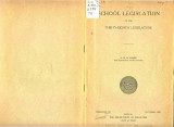 School Legislation of the Thirty-Eighth Legislature