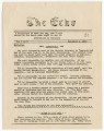 The Echo, Vol. 1, No. 2